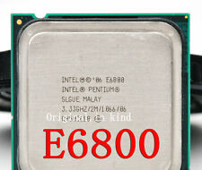 Intel Pentium E6800 / 3.33GHz / 2MB / 1066MHz (SLGUE) 775 Desktop Processor