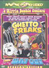 SOMETHING WEIRD VIDEO: A HIPPIE DOUBLE FEATURE - GHETTO FREAKS/ WAY OUT USED - V