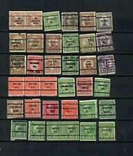 USA America Collection MH OVERPRINTED Classic unchecked  STAMP LOT (US 501)