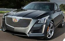 2015 2016 2017 CADILLAC CADY CTS SEDAN 1PC UPPER MESH OVERLAY GRILLE GRILL E&G
