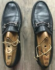 Bruno Magli made in Italy black bit loafers in size 11 / 45 Eu (read details).