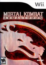 Mortal Kombat: Armageddon WII New Nintendo Wii