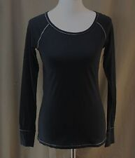 Flirtitude, Small, Black Knit Top, New with Tags
