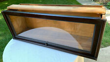 """Antique Macey Barrister Bookcase 1 Section Mahogany Finish 13"""" Tall #4"""