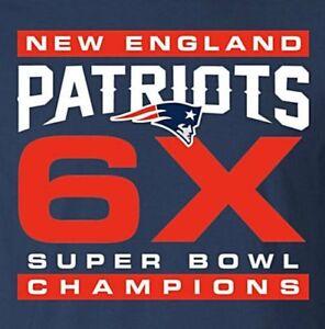 New England Patriots 6X Super Bowl Champs Ladies 1/4 Zip Pullover XS-4XL New