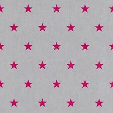 Rasch Estrellas Papel Pintado - Rosa y Gris 247619 Nuevo