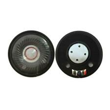 2PCS 50mm Headphone Speaker Headset Driver 32Ohm 112db HIFI Speaker Repair Parts