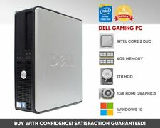 Cheap Dell Gaming Desktop PC Computer | Dedicated Graphics | 4GB | Windows 10