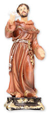 "Saint Francis of Assisi - 5"" Florentine Resin Statue - Beautiful Religious Gift"