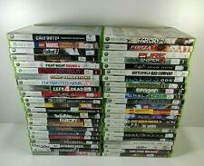 Microsoft Xbox 360 Pick Choose a Game Canada Free Shipping Cleaned & Tested