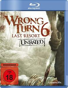 Wrong Turn Complete Season 6 Last Resort Unrated Sixth Series Bluray UK Region B