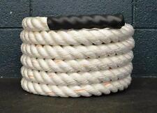 """50 x 1.5"""" Poly Battle Rope CrossFit MMA Battling Strength Training Boot Camp"""