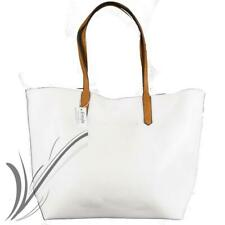 6a0a03bcf5 Borsa bianca grande da donna lavoro capiente shopping bag tracolla borsello  2019