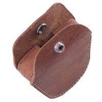 Genuine Leather Belt Ammo Pellet Pouch Storage Bag for Slingshot Balls Portable