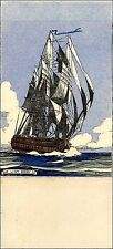 "Vaisseau ""le Lion"" XVIII, illustrated  E. Blandin"
