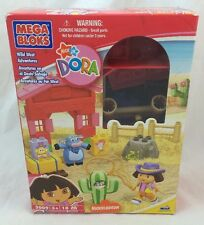 NEW Mega Blocks DORA Explorer WILD WEST ADVENTURES 3009 Set