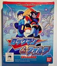 Wonder Swan Mega Man-Rockman & Forte Challenger From The Future -Retro Game- NEW