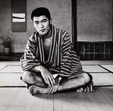 1960s Vintage HANDSOME SEMI NUDE MALE Japan Asian Photo Gay 11x14 ~ TAMOTSU YATO