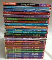 Set Of 24 GOOSEBUMPS ALL ORIGINAL SERIES BOOKS!! BY R.L. STINE Lot