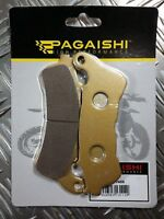 PAGAISHI FRONT PADS FOR Suzuki VLR 1800 C1800 RT Intruder Touring K8 2008