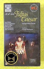 Julius Caesar ~ New VHS Movie ~ Classical Opera Music Singer Theater Video