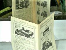 Réplique de la NOTICE SCHUCO 1966 (4 LANGUAGES) OLTIMER TIN TOY RENAULT