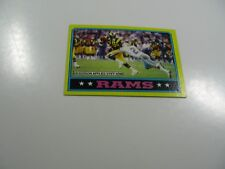 Los Angeles Rams, 1986 Topps Dickerson Applies Stiff-Arm card #76