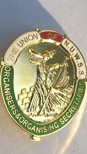Suffragette NUWSS Organisers Badge Brooch Suffragettes & Free Velvet Gift Pouch