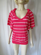 Hollister Striped Cotton Blend Other Tops for Women