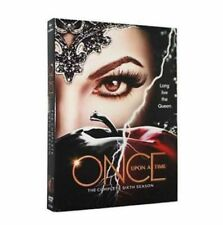 Once Upon A Time: Sixth Season 6 (DVD, 2017, 5-Disc Set) - Brand New