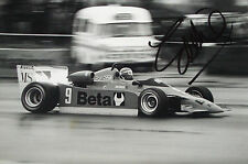 Eddie Cheever SIGNED Colin Taylor Original Period, F2 Osella , Int Trophy 1979