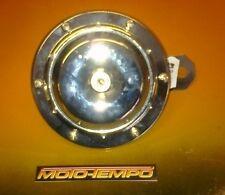 Clásico de cromo personalizadas 110db 12 Voltios Cuerno resistente al clima Moto Auto Bicicleta