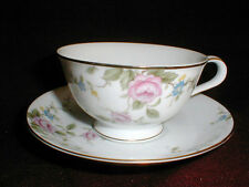 Noritake China #6679 FIRENZE Cup Saucer/s EXC (LOC-BAS)