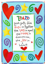 Humorous Recycled Paper Farther Dad Brithday Card #Bf-545697