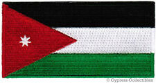 JORDAN FLAG embroidered iron-on PATCH JORDANIAN EMBLEM Muslim Middle East Emblem