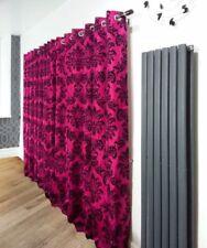 Rideaux et cantonnières roses contemporains pour la chambre