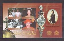 PAPUA NEW GUINEA 2002 QE2 Golden Jubilee min sheet MUH