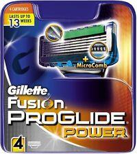 Gillette Fusion Proglide Power - 4 Blades - Brand New - FREE POSTAGE