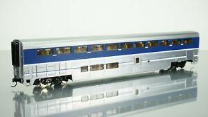 Walthers New Plated Finish Surfliner Superliner I Coach HO scale