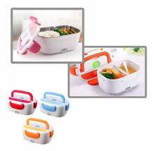 Cute Electronic Heating Lunch Box  - BLUE