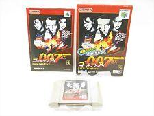 007 GOLDEN EYE 007 Item Ref/ccc James Bond Nintendo 64 Japan Game n6