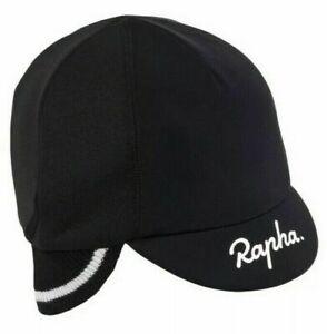 NEW - RAPHA Deep Winter Hat - Cycling Cap Merino Ear Cuff, colour Black
