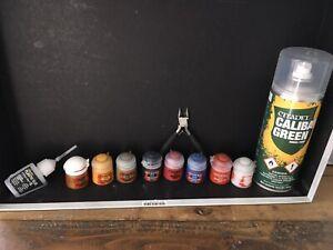 Citadel Farben Hobby Auflösung Sammlung Dark Angels Spray Caliban Green Spray