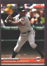 MARQUIS GRISSOM 2004 DONRUSS ORANGE COUNTY COLLECTION SP EXPOS GIANTS 5/5 $50