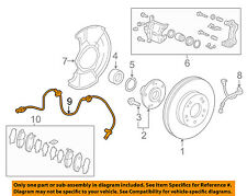 HONDA OEM 16-18 Civic ABS Anti-lock Brakes-Front Speed Sensor 57450TBAA03