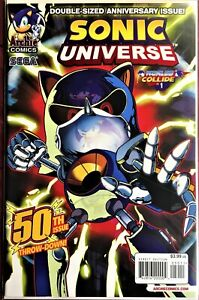 SONIC UNIVERSE Comic #50 May 2013 FORGED IN FIRE MECA-SONIC Bagged Boarded NM++