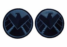 """3.5"""" Set of 2 Avengers Agents of SHIELD Embroidered Iron On Patch"""
