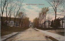 Postcard McGill University Montreal Canada