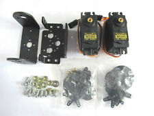 2 GDL pan and Tilt + 2 mg995 servos sensor Mount kit for robot Arduino