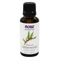 NOW Foods Cedarwood Oil 100% Pure & Natural - 1 oz